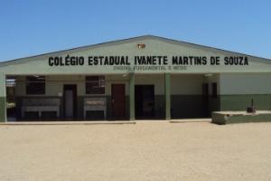 Professora foi agredida no Colégio Estadual Ivanete Martins de Souza