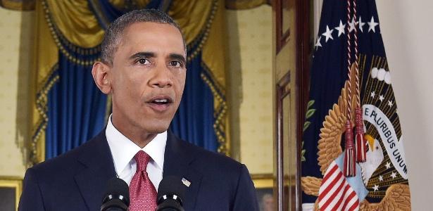 Presidente norte-americano Barack Obama faz pronunciamento oficial sobre o EI