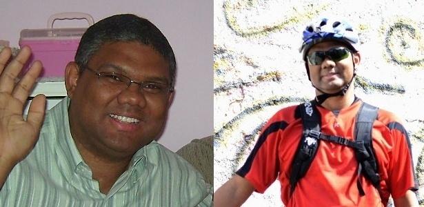 O técnico em informática Roberson Miguel, 34, perdeu 20 kg ao trocar o carro pela bike