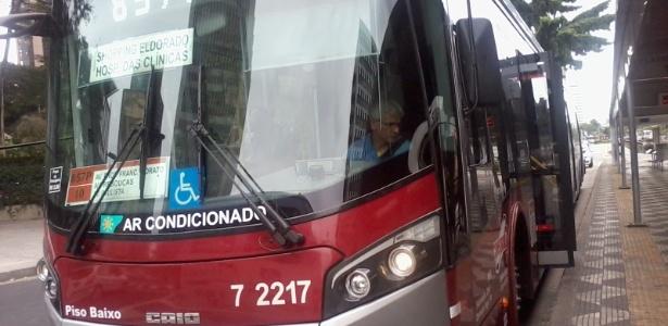 Atualmente, há somente 60 ônibus com ar-condicionado circulando pela capital paulista