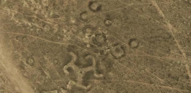 Arqueólogos descobrem mais de 50 desenhos no solo do Cazaquistão