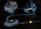 Estudo revela que parte de água do sistema solar é mais antiga que o Sol (Foto: Bill Saxton, NSF/AUI/NRAO)