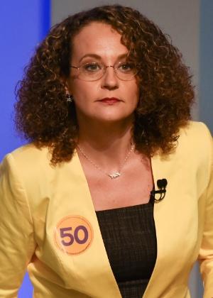 Luciana Genro (PSOL), que perdeu a disputa pela Presidência da República