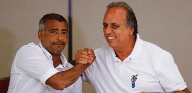 Senador eleito pelo Rio de Janeiro, Romário (PSB) anunciou, seu apoio formal à candidatura de Luiz Fernando Pezão (PMDB)