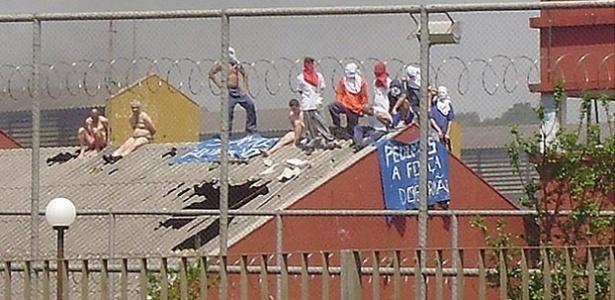 Rebelião na Penitenciária Industrial de Guarapuava