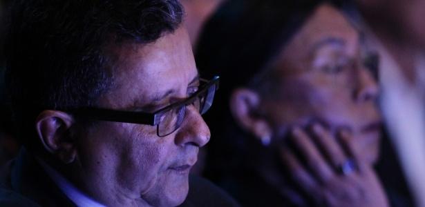 João Santana assiste a debate do 2º turno da campanha presidencial de 2014