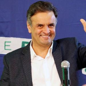 Candidato derrotado à Presidência pelo PSDB, Aécio Neves