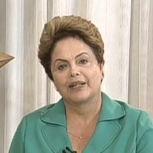 """Presidente Dilma Rousseff (PT) durante entrevista ao """"Jornal da Record"""""""