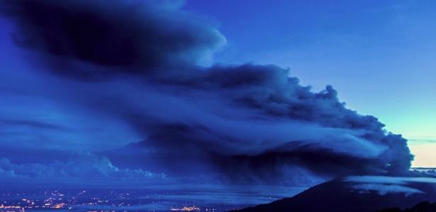 Vulcão Turrialba visto de Cartago, na Costa Rica: cientistas apontam conexão com aquecimento global