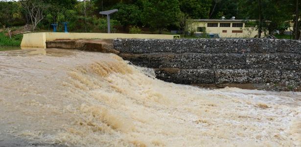 Rio Capivari-Mirim, uma das principais fontes de abastecimento de Indaiatuba (a 103 km de São Paulo)