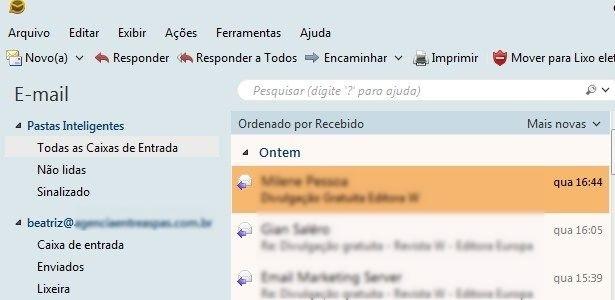 eMClient, gerenciador de correio eletrônico