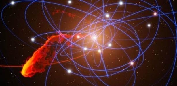 A G2 foi estendida pela gravidade do buraco negro central