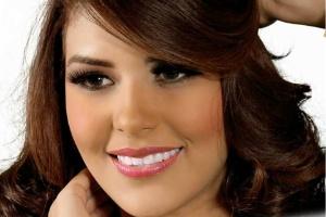 A jovem Maria José Alvarado, Miss Honduras Mundo 2014