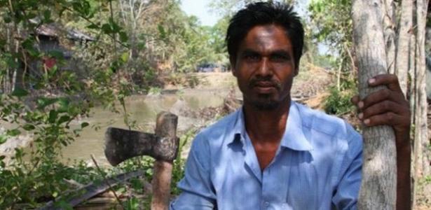 O pescador bengali Jamal Mohumad