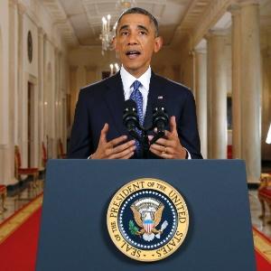 """Em discurso na Casa Branca, Obama disse que os Estados Unidos """"sempre serão uma nação de imigrantes"""", ao defender seu plano de reforma migratória"""