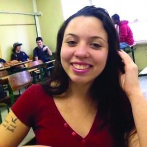Jéssica Maiara Garcia, 17, foi atropelada e morta por um tio em Santa Catarina