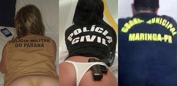 POLICIA DO PARANÁ INVESTIGA SE REALMENTE SÃO POLICIAIS , OS NUDISTAS DAS REDES SOCIAIS