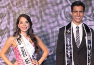 Roberto Candido de Faria Junior/Miss Mundo SP e Mister SP/Divulga��o