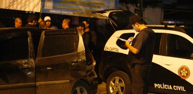 O carro de Procópio foi encontrado na rua Vigilante Fortunato, nas proximidades da Avenida Brasil, em Bangu, na zona oeste