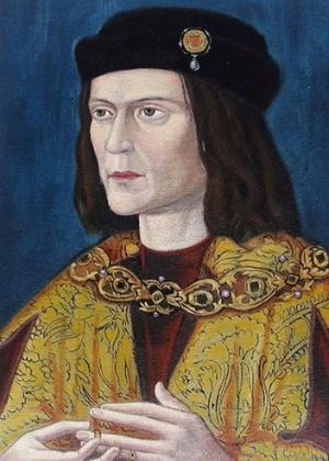 Retrato do rei Ricardo 3° na Catedral de Leicester, em imagem divulgada pela Universidade de Leicester, no Reino Unido. Análises do DNA do rei inglês Ricardo 3º surpreenderam cientistas por trazer à tona indícios de infidelidade na família do monarca, que governou a Inglaterra no século 15