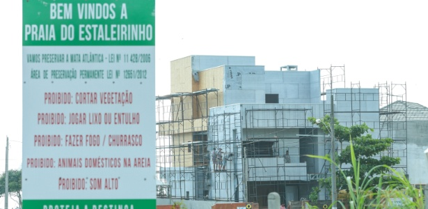Casa de Alvaro Dias em área irregular em Santa Catarina