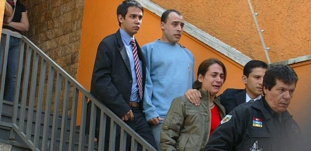 Casal Alexandre Nardoni e Ana Carolina são presos após a morte de Isabella, em 2008