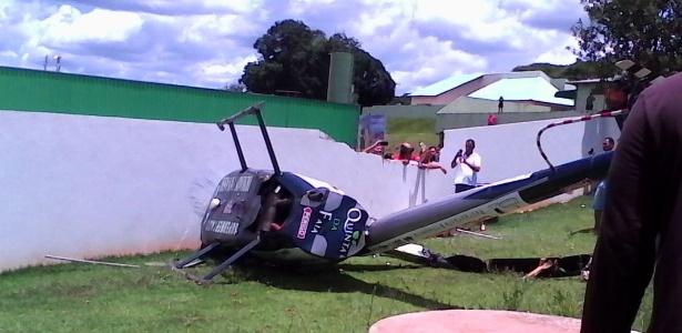 Um dos feridos, o piloto fugiu do local após o acidente, mas foi encontrado por PMs