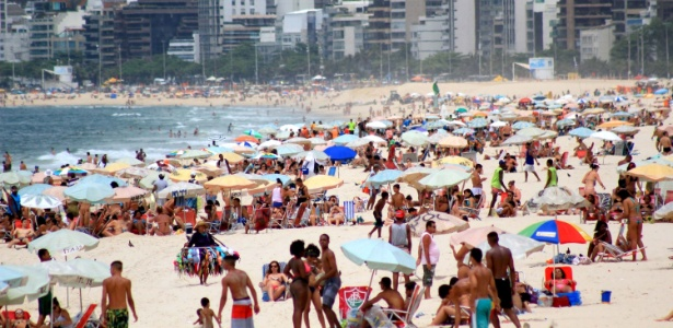Neste verão, as temperaturas máximas devem passar dos 30°C em média no Brasil