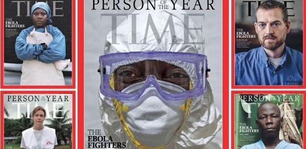 "Revista Time elege médicos, enfermeiros e trabalhadores de saúde que combatem epidemia de ebola como ""personalidade do ano de 2014"""