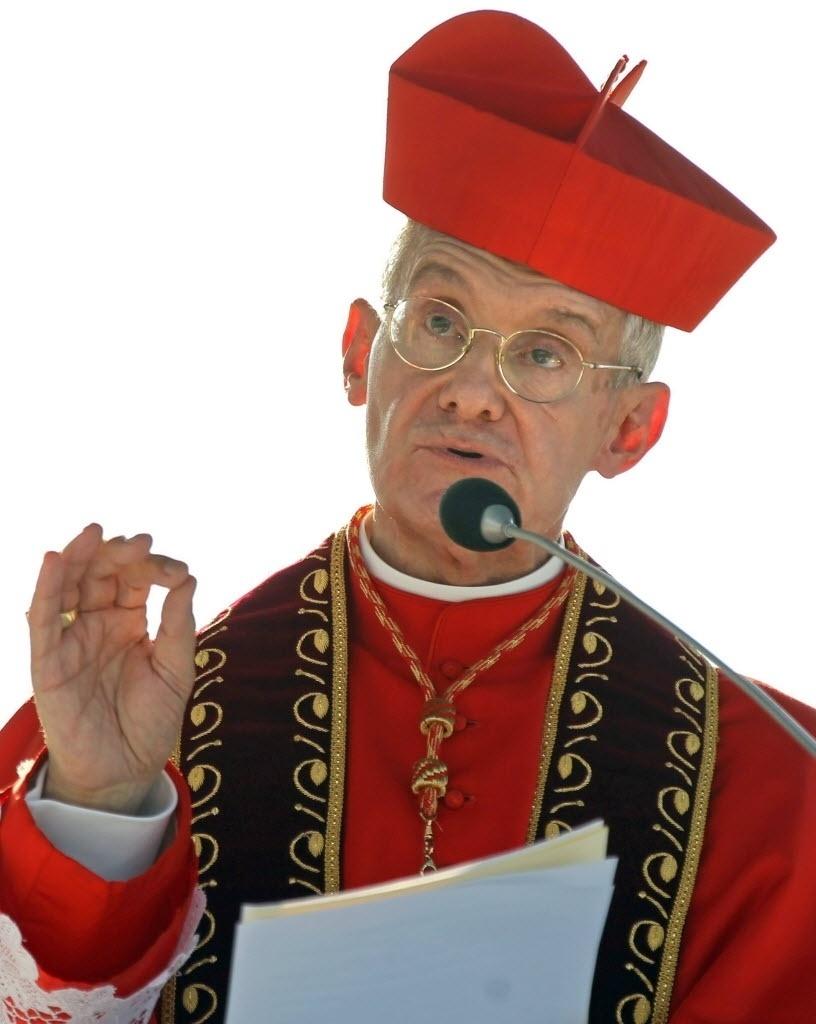 20.dez.2014 - O papa Francisco nomeou, neste sábado (20), o cardeal francês Jean-Louis Tauran (foto) como o novo camerlengo, o cardeal que gere o Vaticano após a morte ou a renúncia de um pontífice. Tauran, 71, substitui o cardeal italiano Tarcisio Bertone, que completou 80 anos neste mês, idade com que os cardeais não podem mais fazer parte do conclave que elege um papa. Se o papado fica vago por morte ou renúncia, o camerlengo administra a rotina do Vaticano até que o novo papa seja eleito pelo conclave