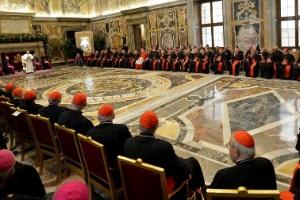 Declarações do Papa Francisco aconteceram durante encontro administrativo da Cúria