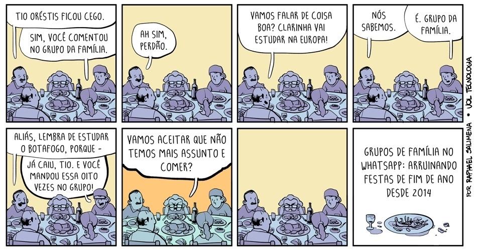 """27.dez.2014 - """"Grupo da família"""""""