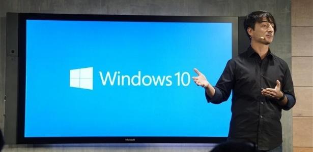 Joe Belfiore, da Microsoft, apresenta novidades do Windows 10 em evento nos EUA
