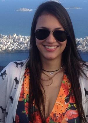 Karina Caciola passou em primeiro lugar no vestibular de medicina da Unifesp