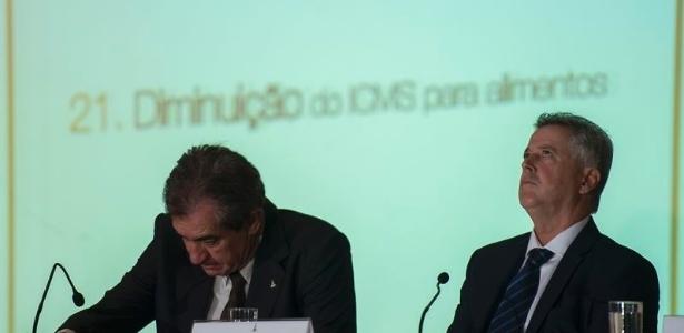 O governador do Distrito Federal, Rodrigo Rollemberg, anuncia mais medidas de ajuste fiscal e econômico