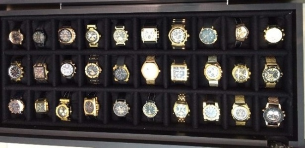PF apreendeu quase 500 relógios de luxo na Lava Jato