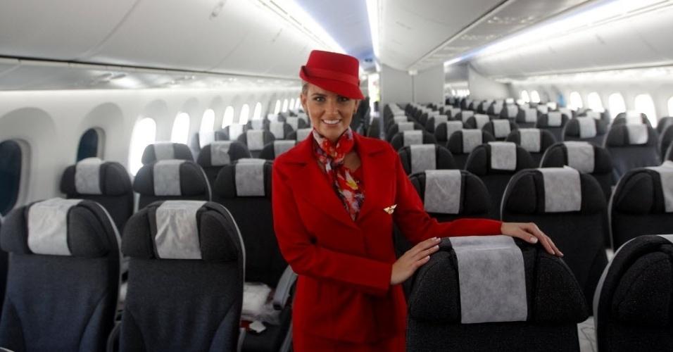 Avianca inaugura voos para o brasil com o boeing 787 bol for Interior 787 avianca