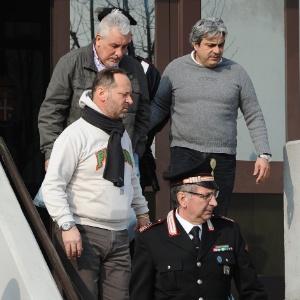 Condenado no processo do mensalão, o ex-diretor de marketing do Banco de Brasil Henrique Pizzolato ao ser preso