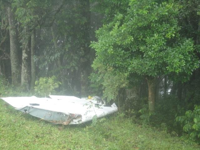 19.fev.2014 - Um avião de pequeno porte caiu na manhã desta quinta-feira (19) em Bueno Brandão, no interior de Minas Gerais. De acordo com a Polícia Militar da cidade, que atendeu à ocorrência, quatro pessoas teriam morrido no acidente