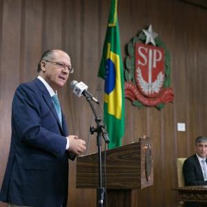 """É inadmissível proibir a entrada de presos nos CDPs como vem acontecendo"", disse Alckmin"