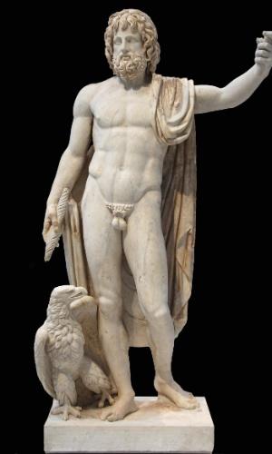 23.fev.2015 - Zeus - Senhor do Monte Olimpo, é bambambam da mitologia grega. Chefão dos deuses, dos homens, do céu e da chuva. Dizem que é todo poderoso ? mas será que tem poder suficiente para encher o Cantareira?