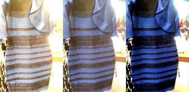 De que cor é o vestido azul/branco? Entenda a ciência por trás da polêmica