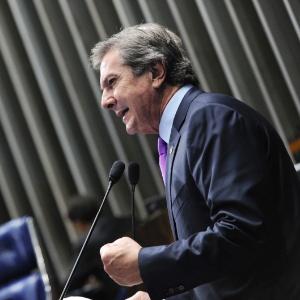O senador Fernando Collor de Mello (PTB-AL)