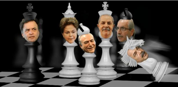 No xadrez governamental, o ministro Aloizio Mercadante tropeça, e Dilma precisa manter Lula por perto e contar com o apoio de Michel Temer para sair da armadilha política