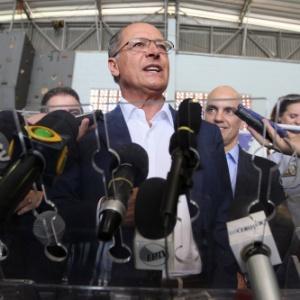 25.mar.2015 - Geraldo Alckmin, governador de São Paulo,
