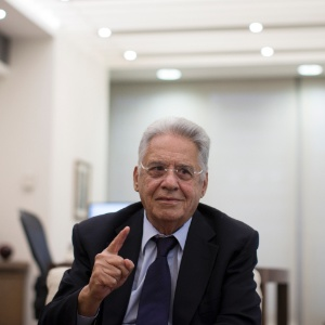 O ex-presidente da República, Fernando Henrique Cardoso