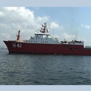 O navio polar de pesquisa da Marinha Almirante Maximiano serviu de plataforma de trabalho para 114 pesquisadores em 13 projetos na Antártica