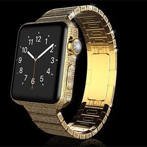 Apple Watch de luxo com pulseira de diamante chega a R