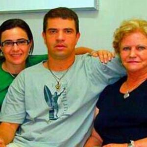 Rodrigo Gularte e família