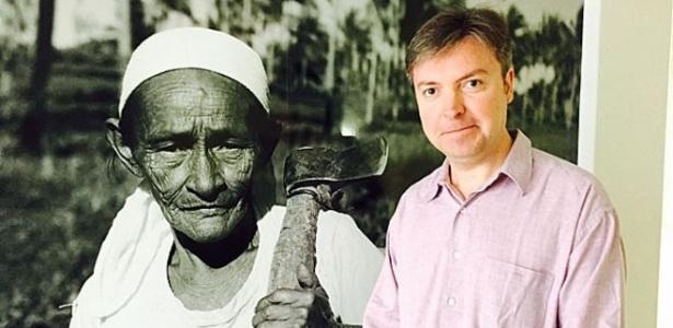 O coordenador de Campanhas e Políticas da ONG ActionAid, Ben Philips, esteve no Brasil